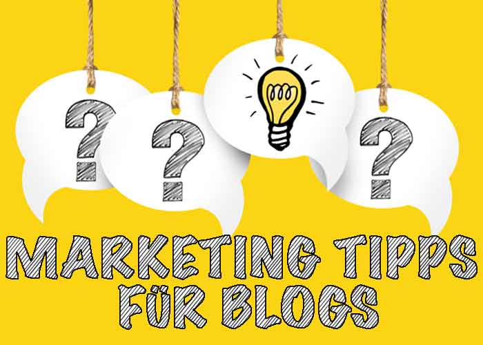 Marketing Tipps für Blogs