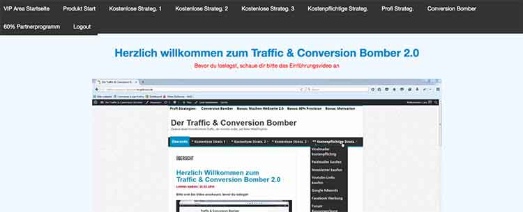 Traffic und Conversions Bomer