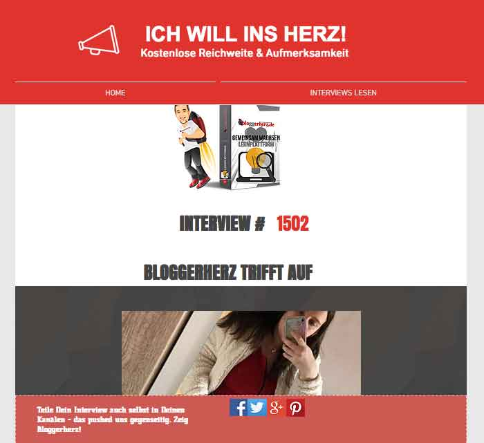bloggerherz intervieww