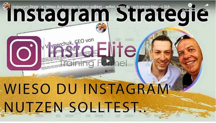 Insta Elite Mini Video Kurs Lektion1